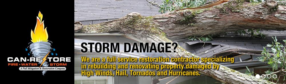 Storm Damage West GA